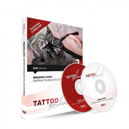 Benjamin Laukis - Contrast in Realistic Still Life Tattooing, DVD  Bücher / DVDs Tattoobedarf