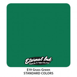 Eternal Ink - Grass Green, 30 ml Tattoofarbe Eternal Ink Standard Colors Tattoobedarf