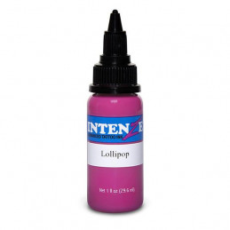 Intenze Lollipop, 29ml Tattoofarbe Intenze Ink Intenze Single Colors Tattoobedarf