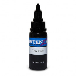 Intenze True Black, 29ml Tattoofarbe Intenze Ink Schwarze Farbtöne  Tattoobedarf