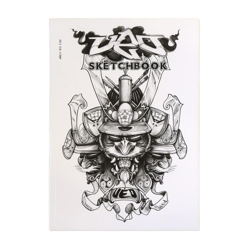 UEO Tattoo Sketchbook Nr. 2 - Japanische Zeichnungen  Bücher Tattoobedarf
