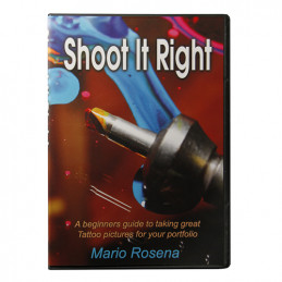 """Shoot it Right"" by Mario Rosenau, DVD  Bücher Tattoobedarf"