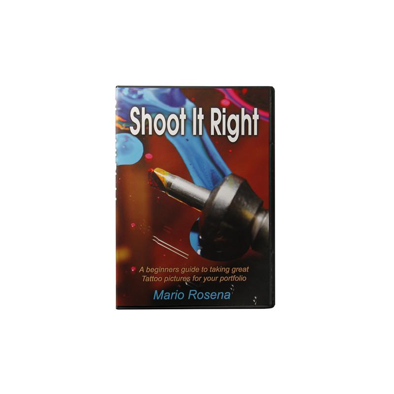 """Shoot it Right"" by Mario Rosenau, DVD  Bücher Tattoobedarf"
