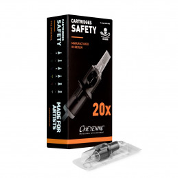 9er Soft Edge Magnum Modul 0.35mm, 20 Stück Sea Cheyenne Soft Edge Magnum 20er Box Tattoobedarf