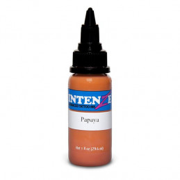 Intenze Ink Papaya, 30ml Tattoofarbe *MHD 03/2020*  % Farben Tattoobedarf