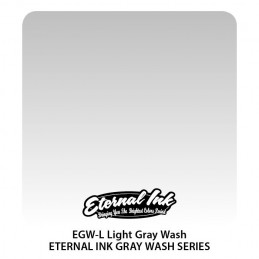 Eternal Ink - Light Gray Wash, 30 ml Tattoofarbe Eternal Ink Standard Colors Tattoobedarf