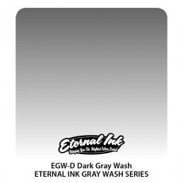 Eternal Ink - Dark Gray Wash, 30 ml Tattoofarbe Eternal Ink Standard Colors Tattoobedarf