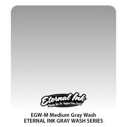 Eternal Ink - Medium Gray Wash, 30 ml Tattoofarbe Eternal Ink Standard Colors Tattoobedarf