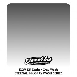 Eternal Ink - Darker Gray Wash, 30 ml Tattoofarbe Eternal Ink Standard Colors Tattoobedarf