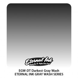 Eternal Ink - Darkest Gray Wash, 30 ml Tattoofarbe Eternal Ink Standard Colors Tattoobedarf