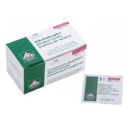 Alkoholtupfer - 100 Stück  Haut-/ Hände Desinfektion Tattoobedarf