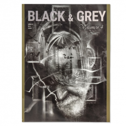 Black & Grey Vol.4 - Paintings and Sketches  Bücher Tattoobedarf