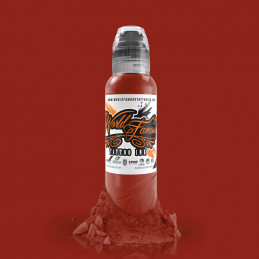 World Famous Ink - Davinci Brown Red, 29ml Tattoofarbe *MHD 05/2021* World Famous Ink Braun & Skin Tone Tattoobedarf