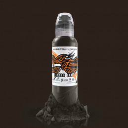 World Famous Ink - Badlands Brown, 29ml Tattoofarbe World Famous Ink Braun & Skin Tone Tattoobedarf