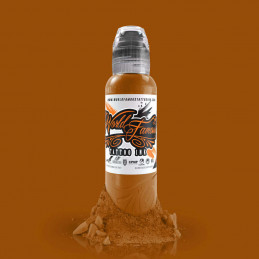World Famous Ink - Caramel, 29ml Tattoofarbe World Famous Ink Braun & Skin Tone Tattoobedarf