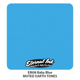 Eternal Ink - Baby Blue, 30 ml Tattoofarbe Eternal Ink Blaue Farbtöne Tattoobedarf
