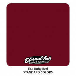 Eternal Ink - Ruby Red, 30 ml Tattoofarbe Eternal Ink Rote Farbtöne  Tattoobedarf