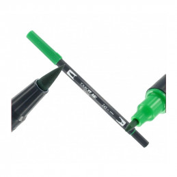 Tombow Dual Brush Stift - sap green 245 Tombow Stifte Tattoobedarf