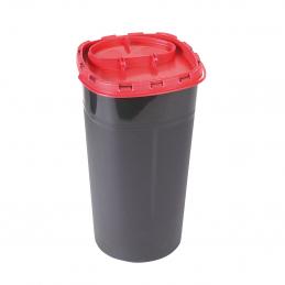 Kanülenabwurfbehälter - Entsorgungsbox schwarz, 3 Liter Volumen Unigloves Verbrauchsartikel Tattoobedarf