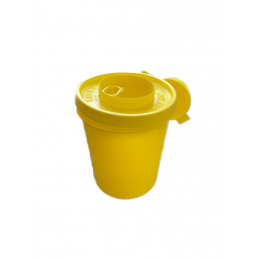 Kanülenabwurfbehälter - Entsorgungsbox 500ml  Verbrauchsartikel Tattoobedarf