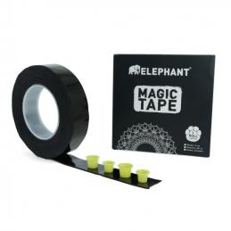 Magic Tape - 5 Meter Rolle - schwarz Elephant Verbrauchsartikel Tattoobedarf